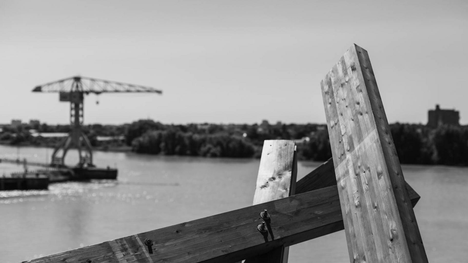 Nantes en noir et blanc