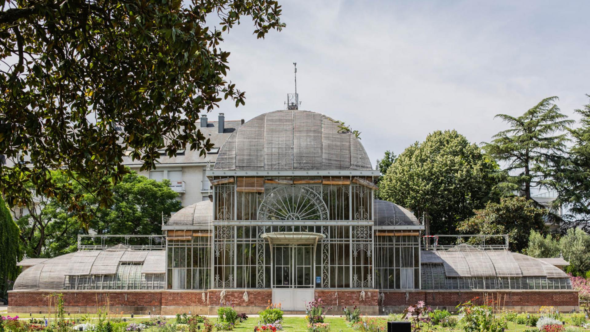 Serre du jardin des plantes