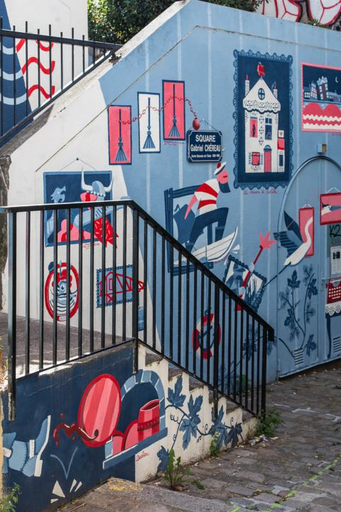 Fresque à Nantes